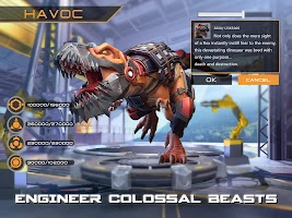 Screenshot 4: Dino War: Rise of Beasts