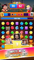 Screenshot 1: Match Masters - PVP Match 3 Puzzle Game