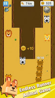 Screenshot 1: Animal Rush - Endless Running