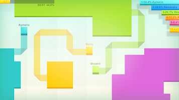 Screenshot 1: Paper.io