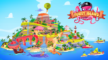 Screenshot 1: Escape Funky Island