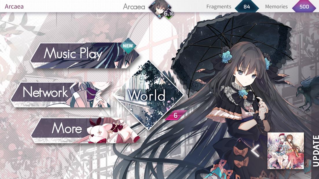 Screenshot 2: Arcaea