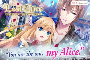 Screenshot 2: Lost Alice - otome game/dating sim #shall we date