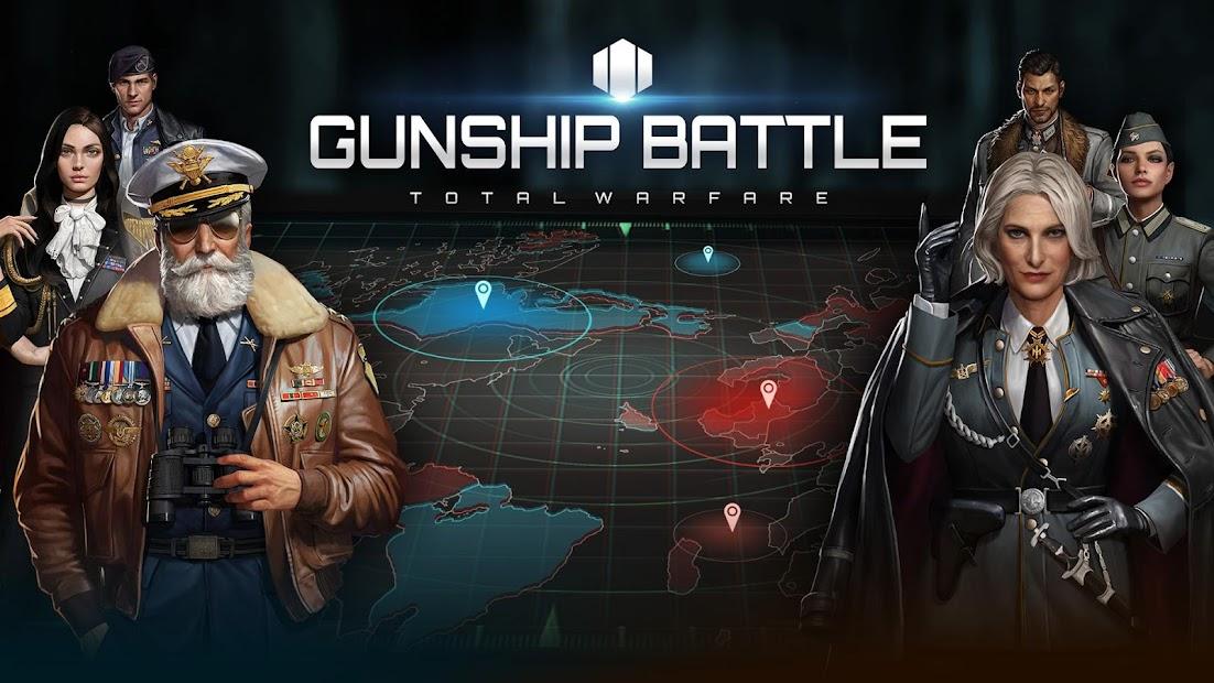Screenshot 1: GUNSHIP BATTLE: TOTAL WARFARE
