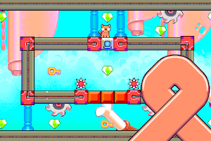 Screenshot 3: Silly Sausage in Meat Land