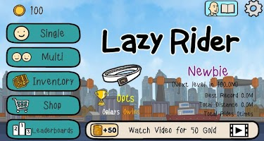 Screenshot 1: Lazy Rider