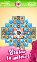 Screenshot 1: Candy Crush Jelly Saga