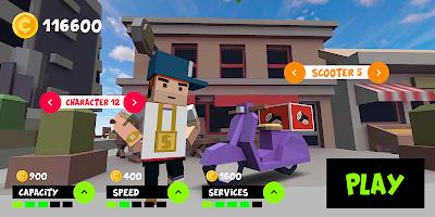 Screenshot 1: 摩托快遞