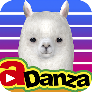 Icon: aDanza - Dancing Alpaca Music Player