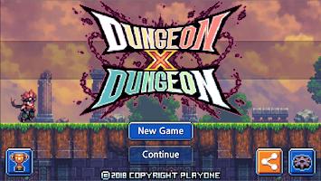 Screenshot 1: Dungeon X Dungeon
