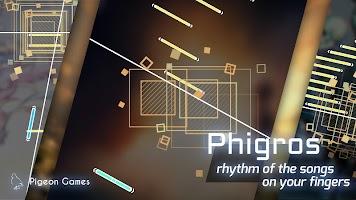 Screenshot 1: Phigros