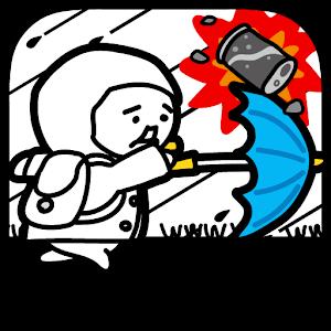 Icon: 台風コロッケ J( 'ー`)し「配達おねがいね」