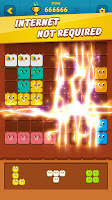 Screenshot 4: Block Crush™ - Cute Kitty Puzzle Game