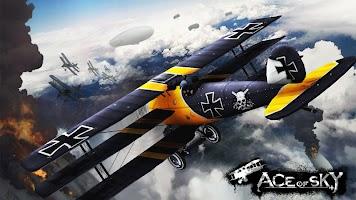 Screenshot 1: 第一次世界大戰 蒼藍天空的王牌