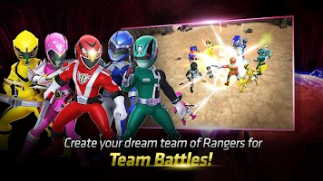 Screenshot 3: Power Rangers : All Stars