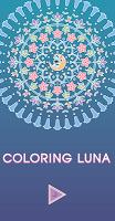 Screenshot 1: Coloring Luna