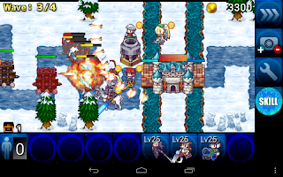 Screenshot 3: Defenders Saga