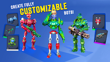 Screenshot 2: Blast Bots - Blast your enemies in PvP shooter!