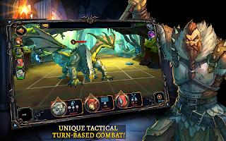 Screenshot 1: Dawn of the Dragons: Ascension - Turn based RPG