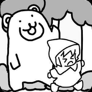 Icon: 森でクマさんテラヤバス