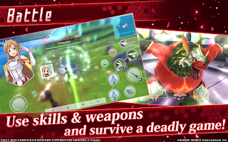 Screenshot 2: Sword Art Online: Integral Factor | Global