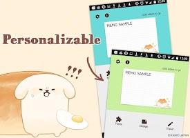 Screenshot 4: 麵包胖胖犬 記事本小工具