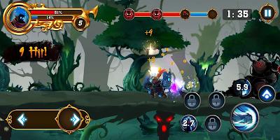 Screenshot 3: 火柴人之影:戰士之神