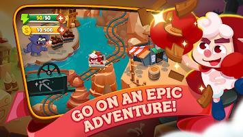 Screenshot 1: Sheepong : Match-3 Adventure