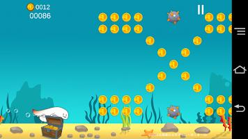 Screenshot 4: 壽司北寄貝的橫向捲軸遊戲