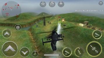 Screenshot 2: 건쉽배틀: 헬리콥터 3D 액션