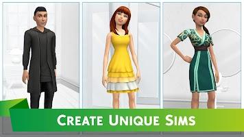 Screenshot 1: The Sims™ Mobile
