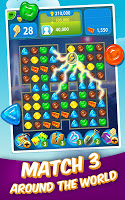 Screenshot 2: Gummy Drop! – Free Match 3 Puzzle Game