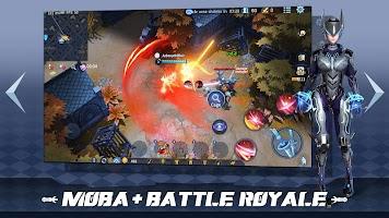 Screenshot 2: Survival Heroes - MOBA Battle Royale