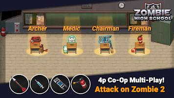 Screenshot 3: Zombie High School