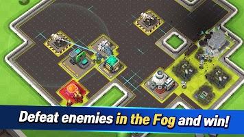 Screenshot 2: Rocket War: Clash in the Fog