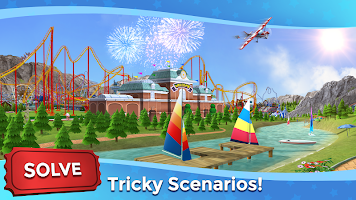 Screenshot 4: RollerCoaster Tycoon Touch - Build your Theme Park