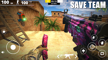 Screenshot 2: Strike Force - Online FPS