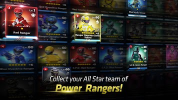 Screenshot 1: Power Rangers : All Stars