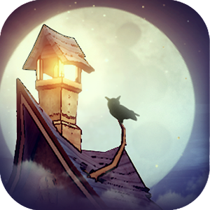 Icon: 貓頭鷹和燈塔