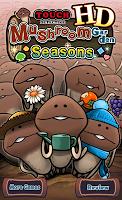 Screenshot 1: Mushroom Garden Seasons HD