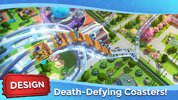 Screenshot 3: RollerCoaster Tycoon Touch - Build your Theme Park