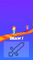 Screenshot 1: Draw Battle 3D