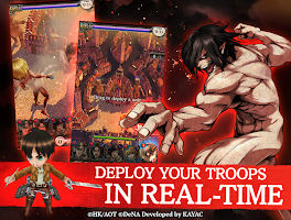 Screenshot 3: Attack on Titan TACTICS | Global(English/Japanese)