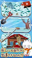 Screenshot 3: 貓咪的雪山SOS