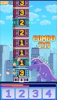 Screenshot 2: MonsTouch - Pixel Arcade Game