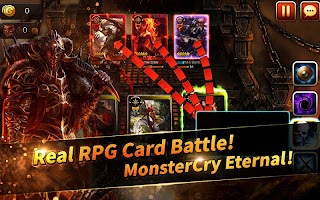 Screenshot 1: MonsterCry Eternal - Card Battle RPG