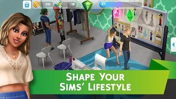 Screenshot 3: The Sims™ Mobile
