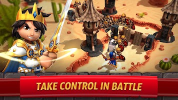 Screenshot 1: Royal Revolt 2: Tower Defense