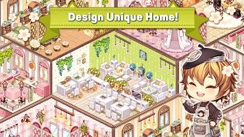 Screenshot 1: Kawaii Home Design - Decor & Fashion Game