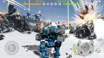 Screenshot 1: Mech Battle - Robots War Game